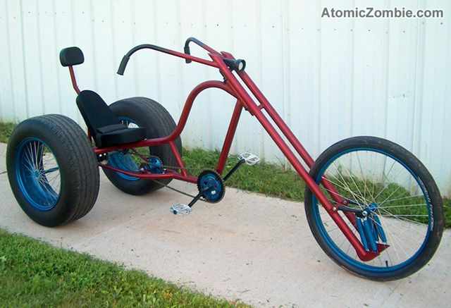 how to build a chopper bicycle plans