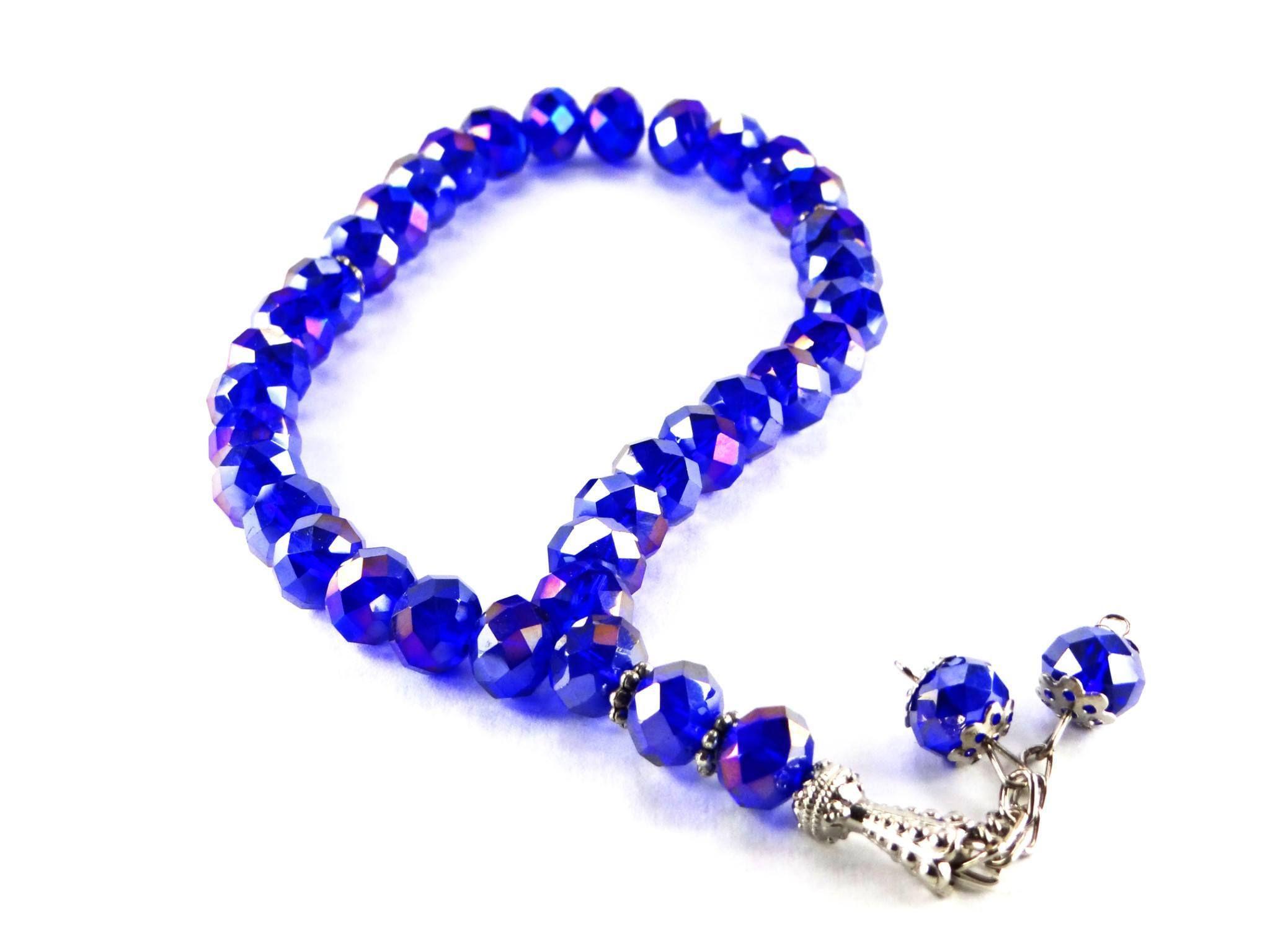 33 Bead Acrylic Crystal Tesbih Crystals Crystal Beads Beads