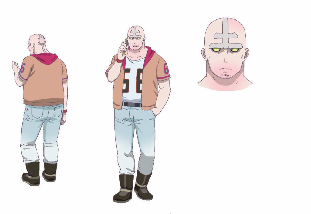 Blood Lad Characters | Blood Lad' backgrounds plus two more character illustrations ...