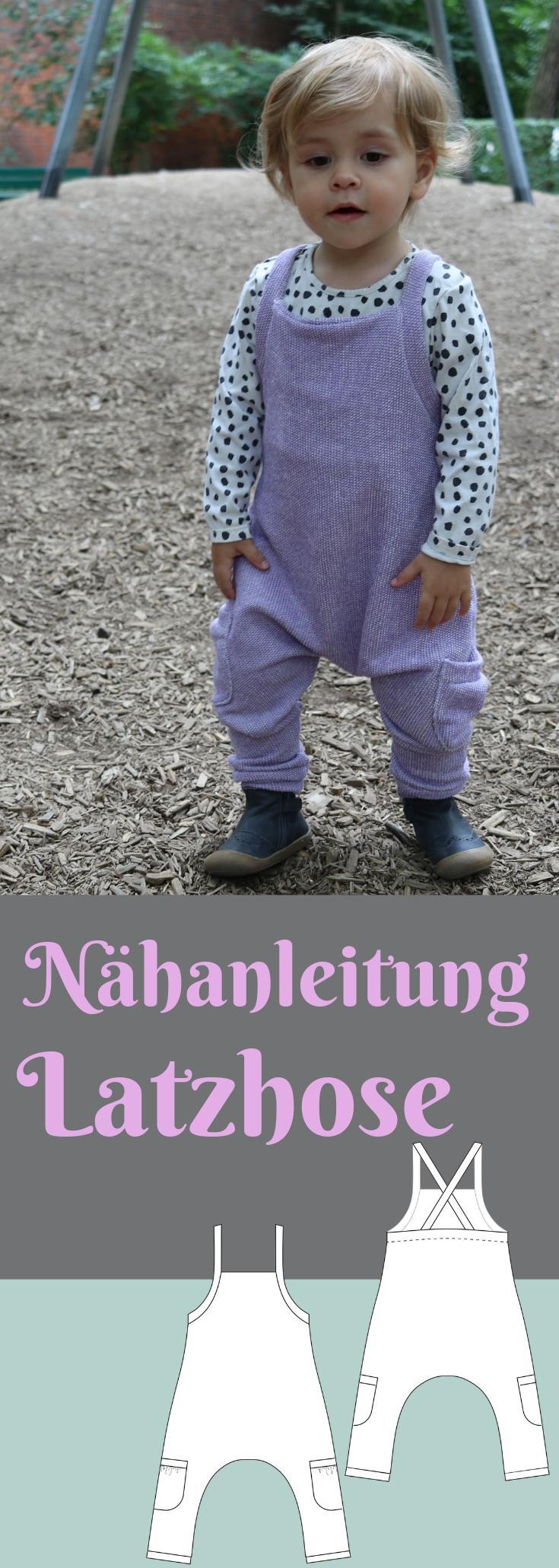 """Photo of Nähanleitung für Anfänger-Latzhose """"Lono""""-   Hier findest du eine Nähanleitu…"""