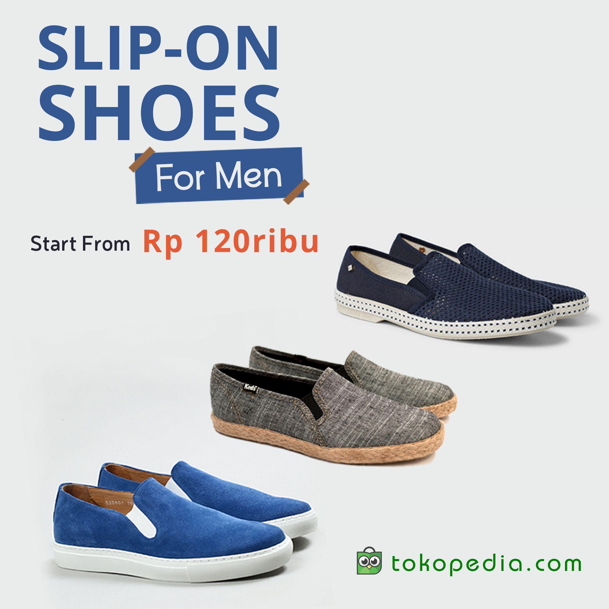 Sepatu Slip On Pria Sepatu Yang Lagi Jadi Trend Sekarang Ini Nih