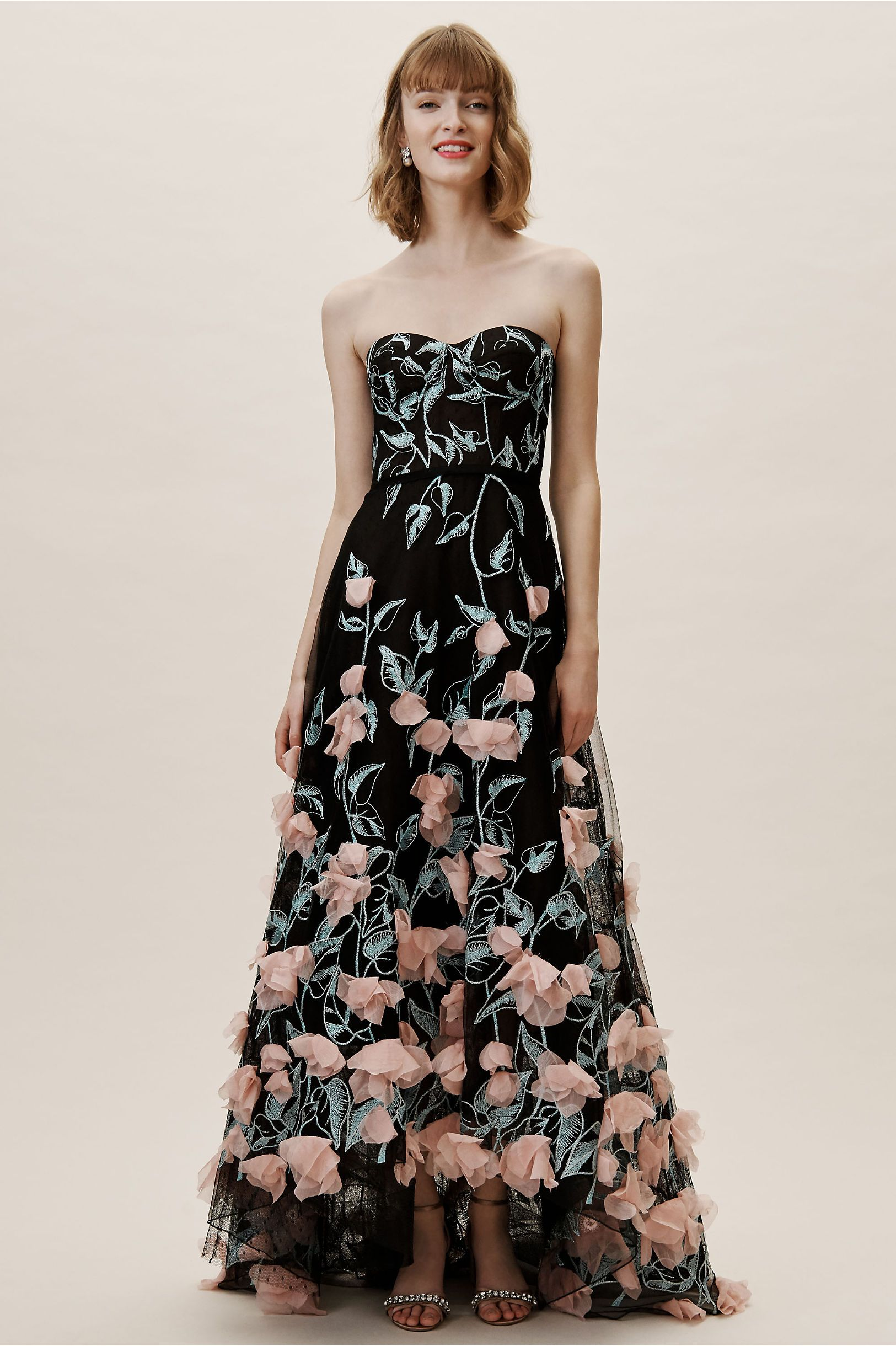 35061204cf5 BHLDN's Marchesa Notte Daveney Dress in Black in 2019 | Products ...