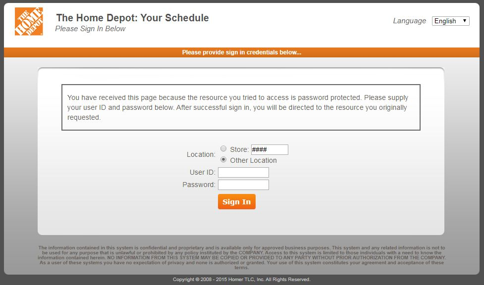 Mythdhr Benefits Www Mythdhr Com Home Depot Employee Login
