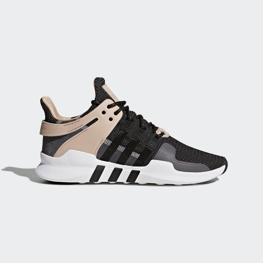 6670da3703 EQT Support ADV Shoes Core Black / Core Black / Grey CQ2249 | Shoes ...