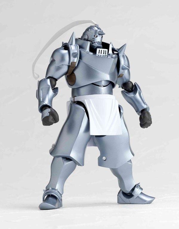 KAIYODO Revoltech 117 Fullmetal Alchemist Alphonse Elric Anime Figure $65.98