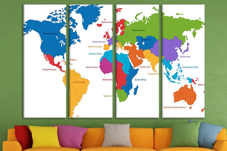 Map canvas push pin world map stretched canvas personalised travel map canvas push pin world map stretched canvas personalised travel map board personalized world map art political world map detailed map gumiabroncs Image collections