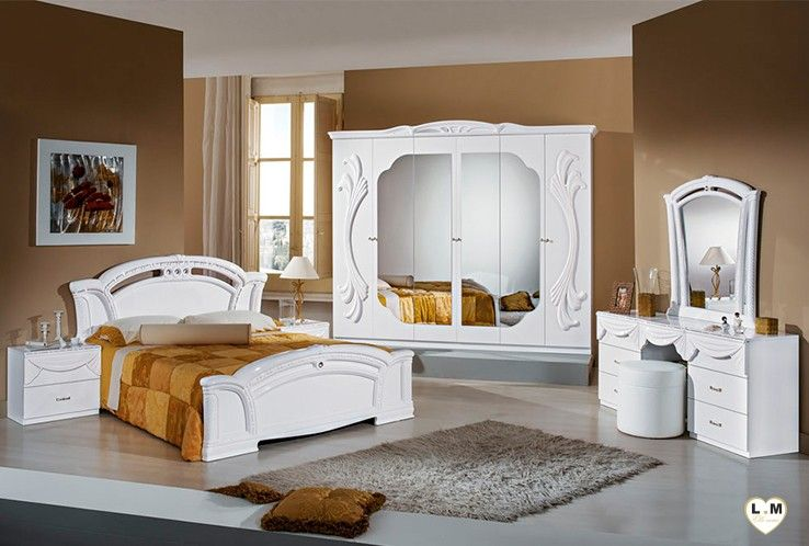 Ambra Laque Blanc Ensemble Chambre A Coucher Mobilier Pour Chambre Fille Chambre A Coucher Italienne Ensemble Chambre A Coucher