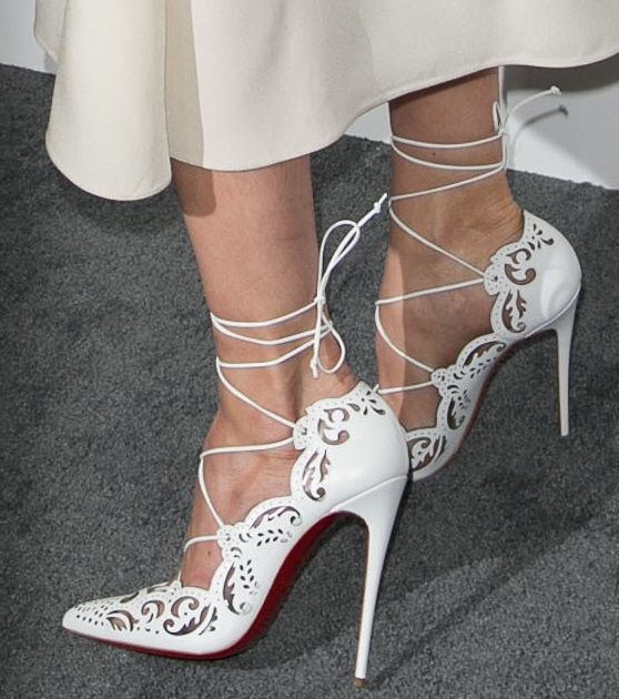 Michelle Monaghan in Christian Louboutin