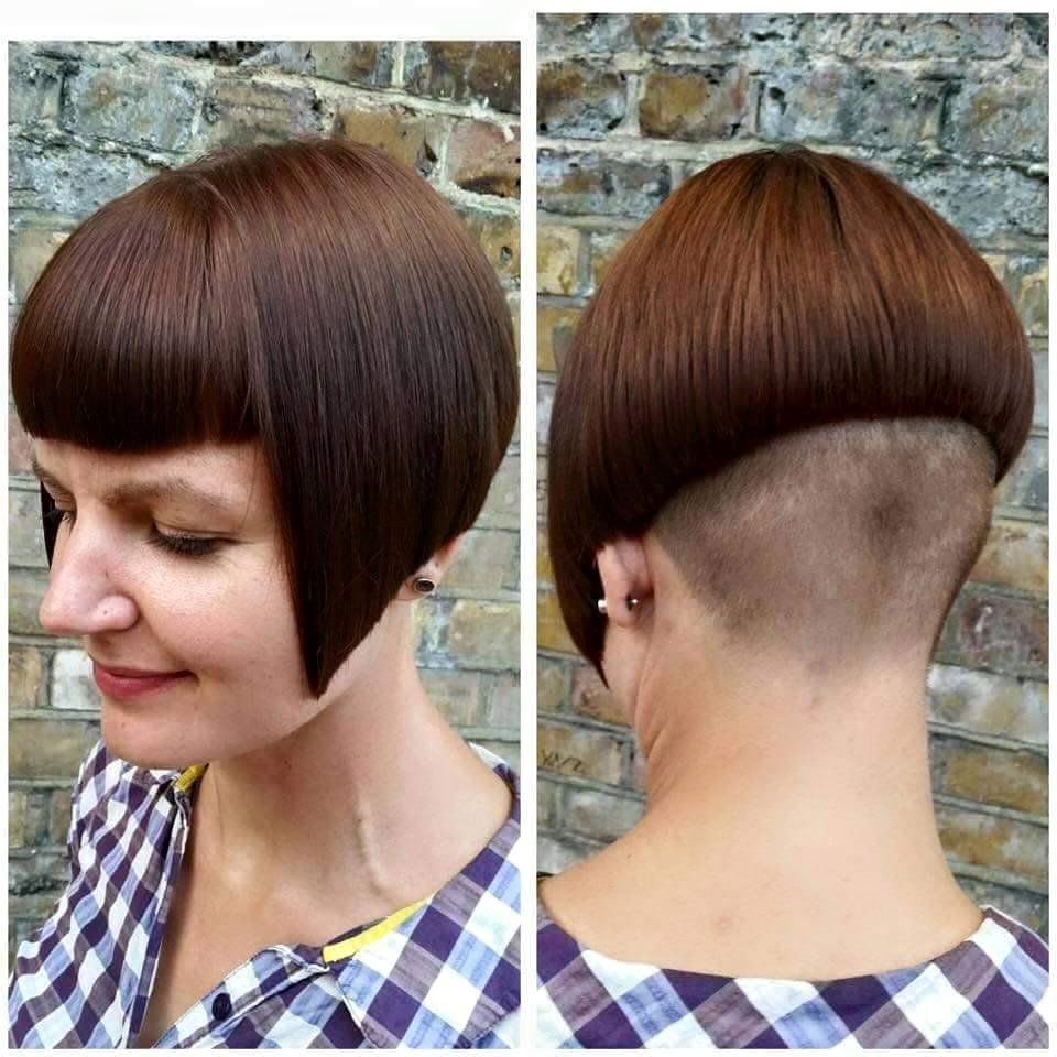 Pin by mariocut on bob mit pony pinterest bobs undercut and