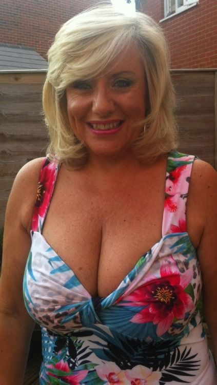 Busty mature sexy woman