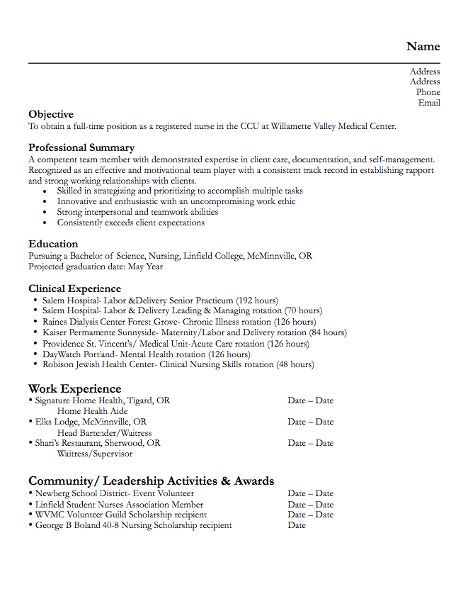mental health worker resume samples