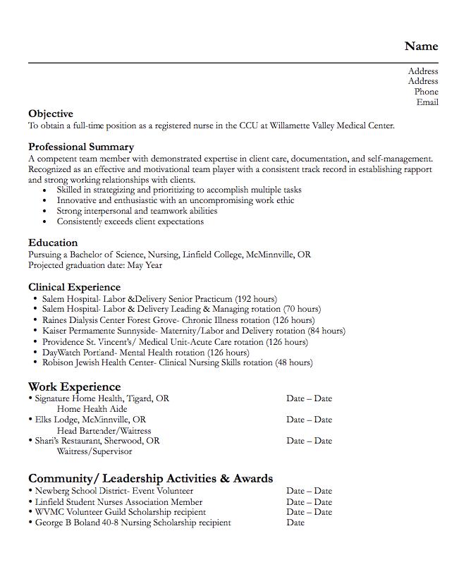 home health care resume
