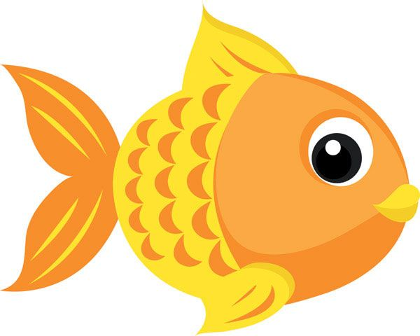 Cute Fishing Cartoons Goldfish Vector 4 Download Free Vector 3d Model Icon Youtoart Com Ilustracoes De Desenhos Animados Peixes De Feltro Animais Coloridos