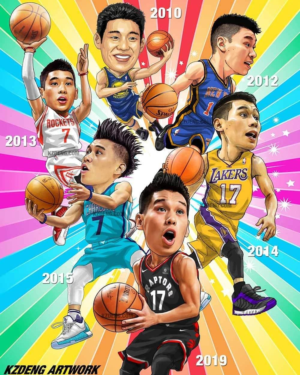 nbaart jeremylin jlin7 jlin7 Artworks between 2010