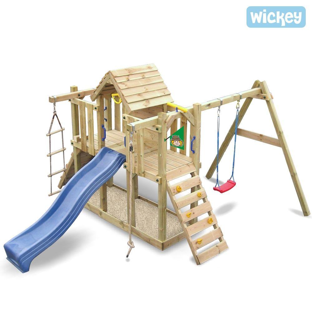 Epic Spielturm Wickey Twinstar Kinderspielturm mit vielen Spielm glichkeiten Mehr