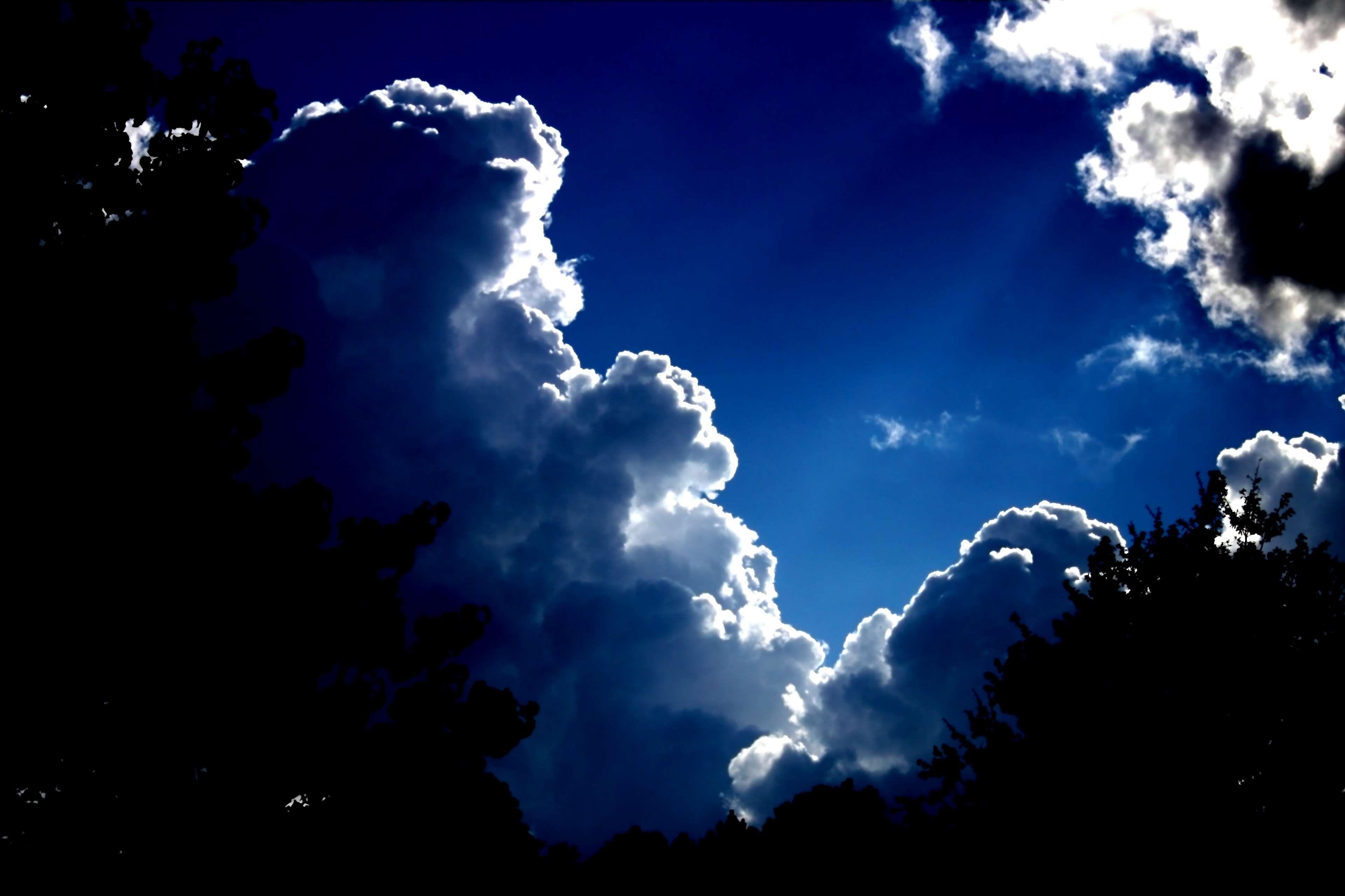 Atmosphere Blue Climate Clouds Cumulus Meteorology