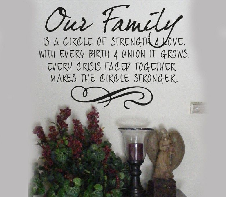 My Family Is My Heart My Strength My Home I Smile Because