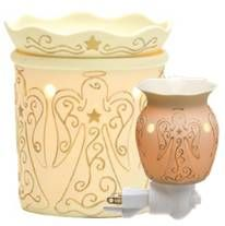 Scentsy Candle Warmers- My favorite scent is the Clove-Cinnamon.