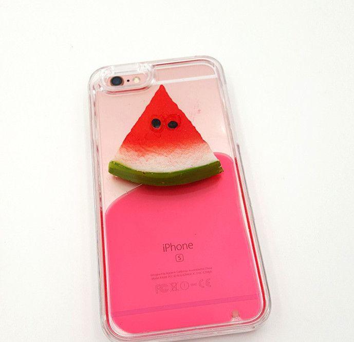 coque iphone 6 silicone pasteque