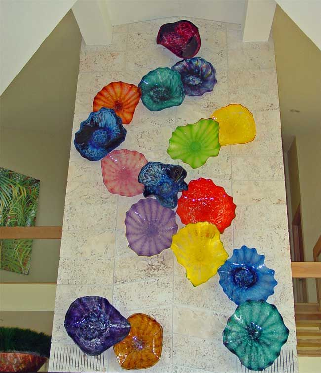 blown glass flower wall art see more google image result for