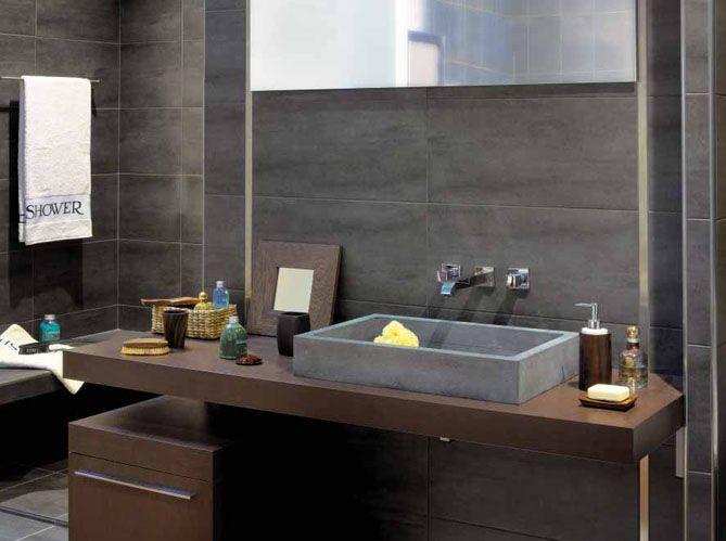 En privilégiant les matières naturelles dans la salle de bains \u2013 la