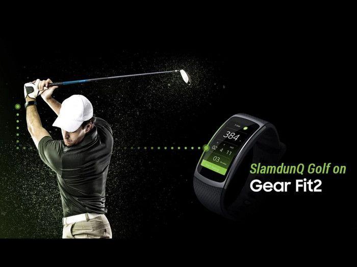 SlamdunQ Golf App Golf Swing Analyzer For Samsung Gear S2