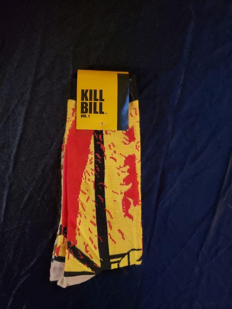 Loot Crate Socks Exclusive Miramax KILL BILL Vol.1 Socks Fits Feet 6 ... 3297f2ef4097