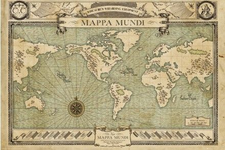 Fantastic beasts map maxi poster harry potter room of requirement fantastic beasts map maxi poster gumiabroncs Images