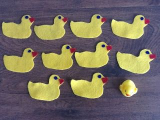 Felt Board Ideas 10 Little Rubber Ducks By Eric Carle Add A Squeaky Duck At The End Just Like The Squeaker At The End Of The Book Felt Board Stories Flannel Board
