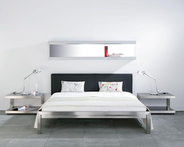 PURE - Bed Stainless Steel Hans Hansen