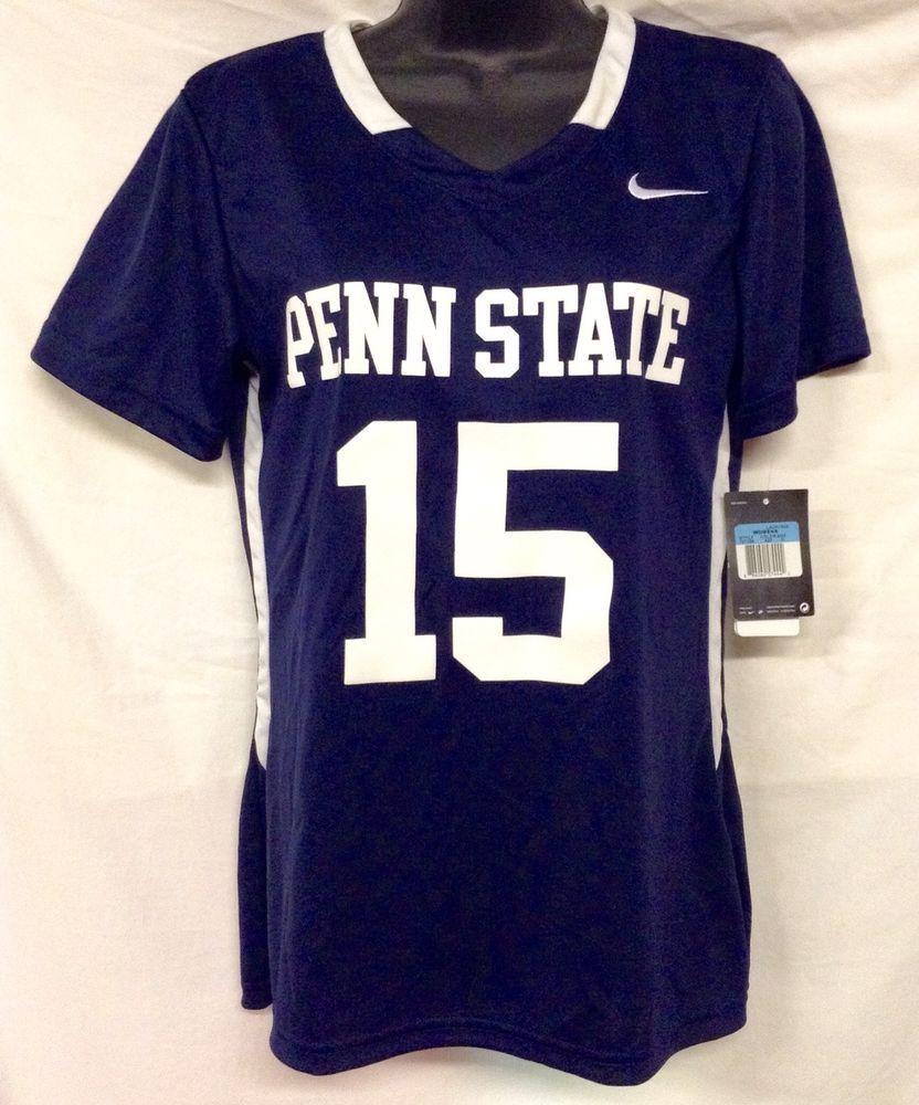 Nike Penn State Nittany Lions Basketball Lacrosse Lax Jersey Nwt Womens Medium Penn State Jersey Lacrosse Girls