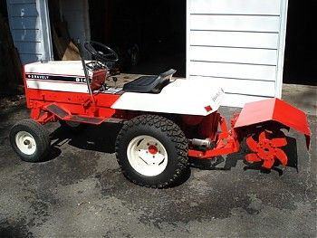 Gravely 814 With Rototiller Tractors Antique Tractors