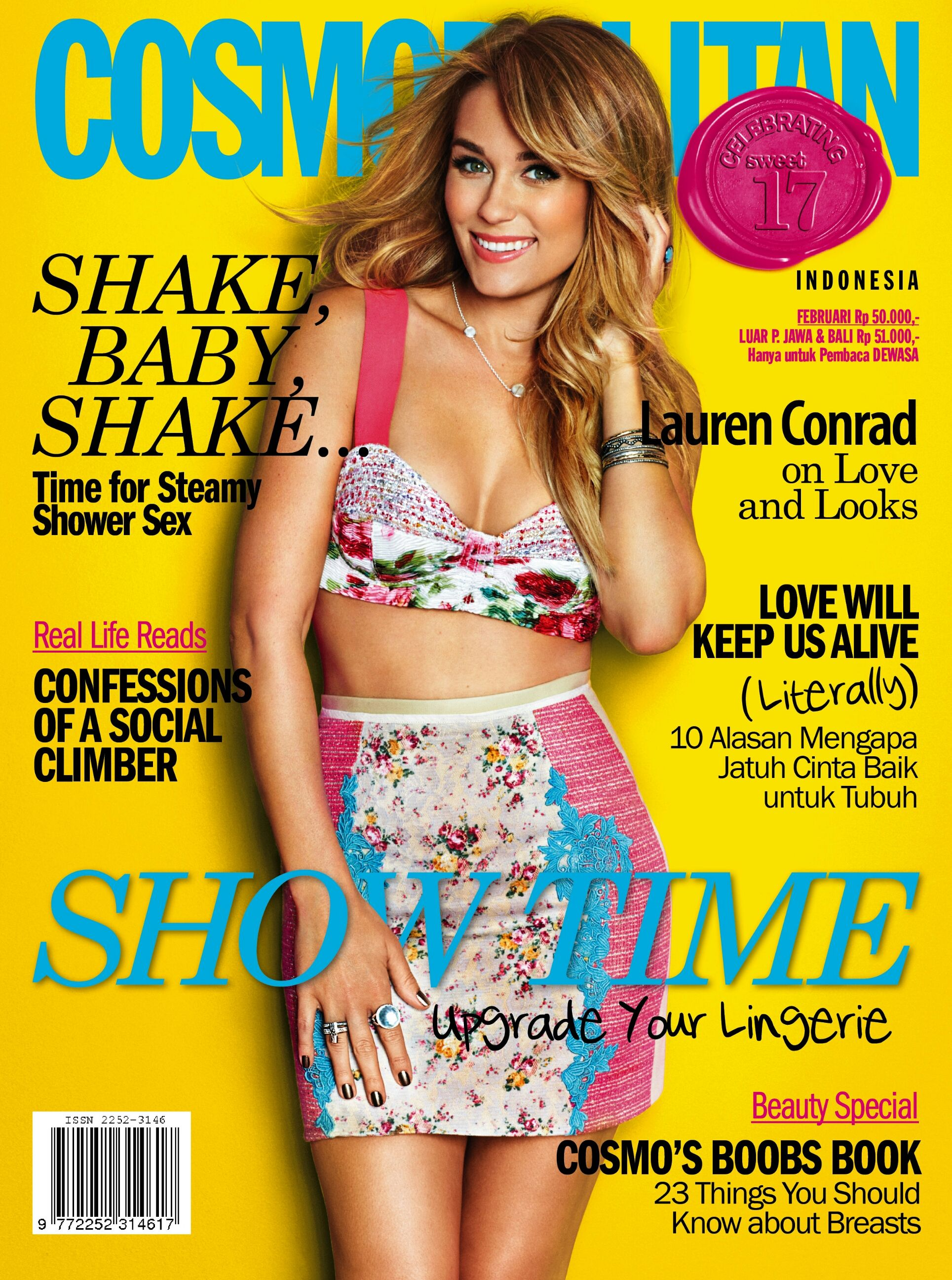 The February 2014 issue of Cosmopolitan Indonesia is now on the shelves. With special articles for the month of LOVE. Grab your copy now!