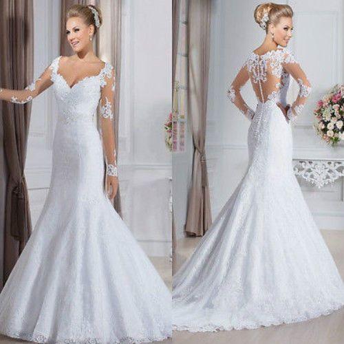 eBay Mermaid Wedding Gowns