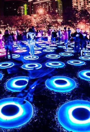 Landscape Architects: Speak at SXSW Eco #lightartinstallation