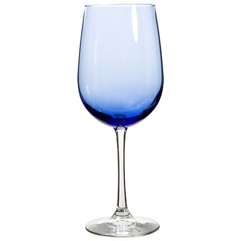 Bulk BrandName Cobalt Blue Wine Glasses  Oz At Dollartree