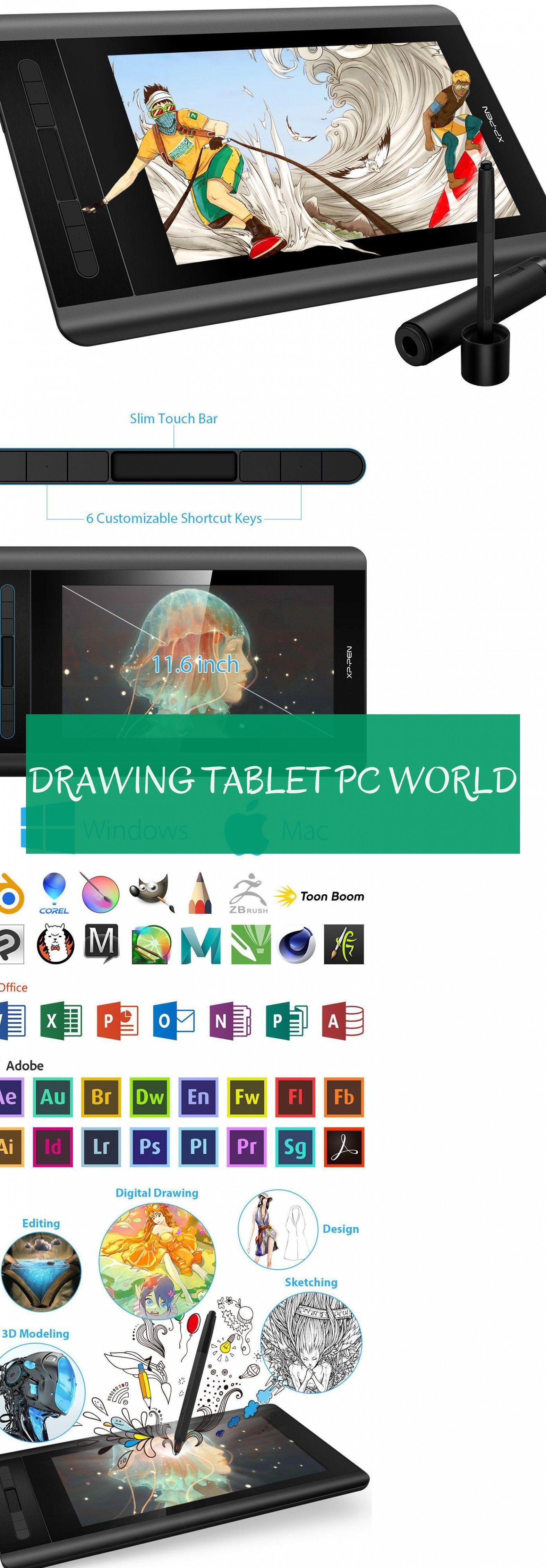Drawing Tablet Pc World Zeichentablett Pc Welt Drawing Tablet Digital Drawing Tablet Art Tablet