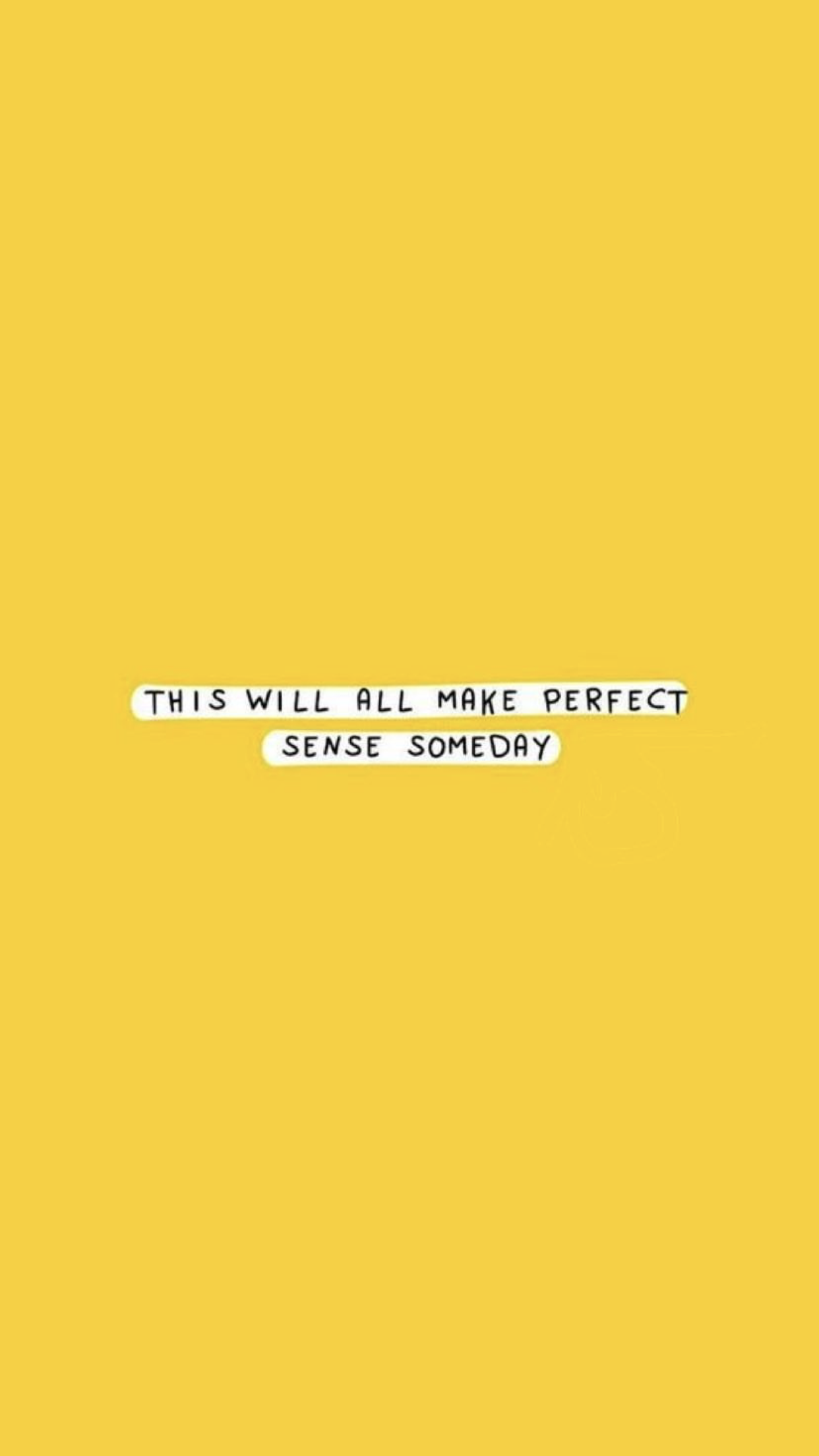 Pin by ❁ ava ❁ on yellow  wallpaper quotes, quotes, yellow