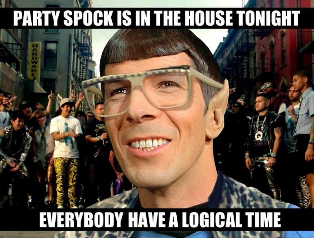 Takei's Nine Favorite Star Trek Memes Spock, Star