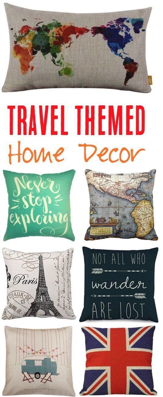 Photo of Travel Themed Home Decor! (26 Creative Ideas) – Never Ending Journeys