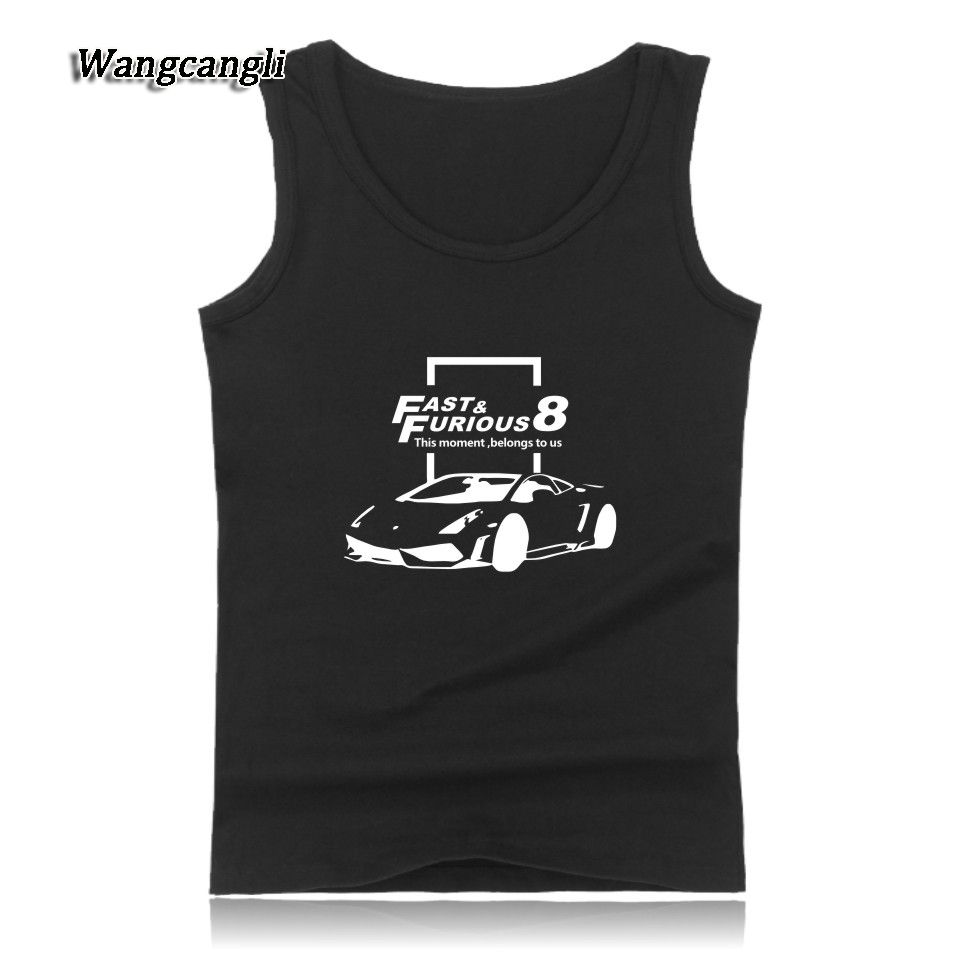 Click to buy ucuc the fate of the furious tank top womenmen summer