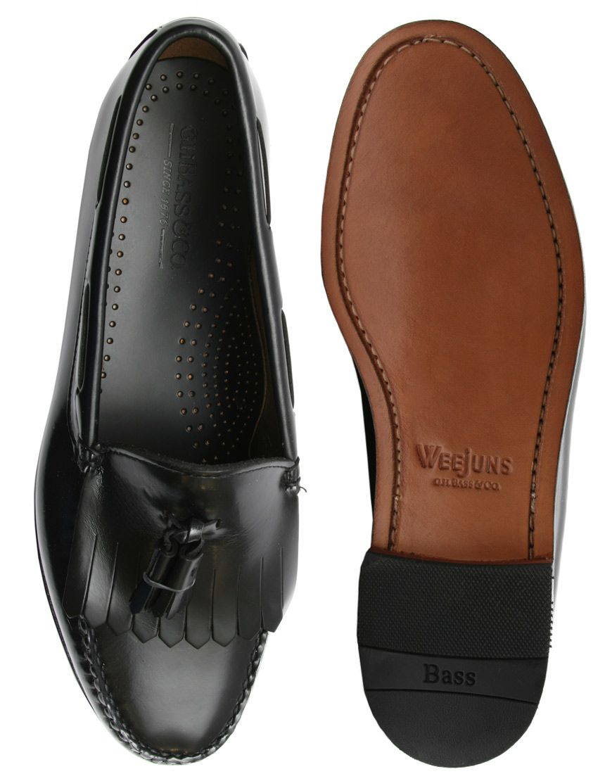 G.H. Bass Layton Fringed Tassel Loafers
