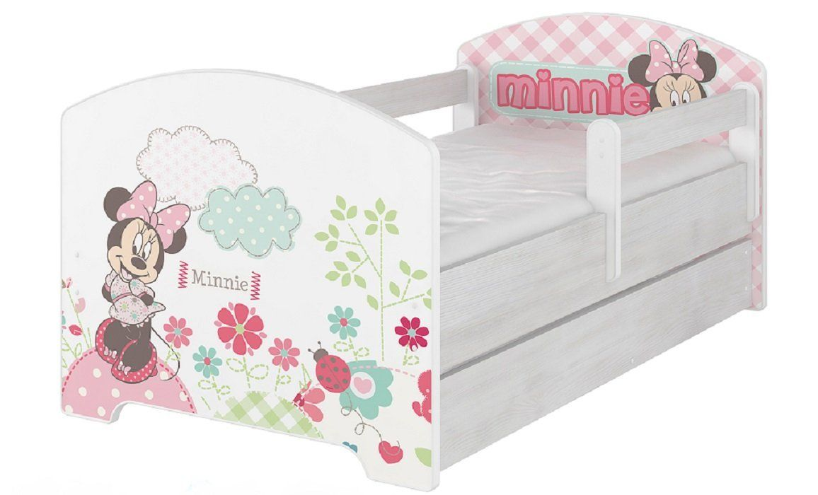 Werbung Rosa Kinderbett Disney Kollektion Minnie Mouse - Kinderbett Rosa