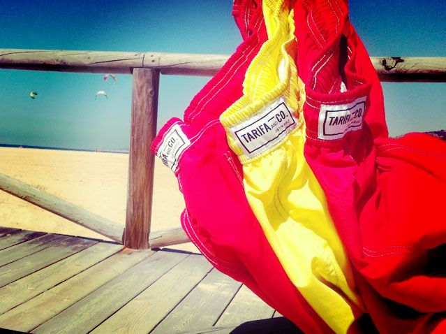 Bring color to your life #colors #spain #tarifaco #swimsuit #swimwear #swimtrunks #2015 #fashion #monogram #initals #red #yellow #menswear #style #summer #getaway #beach #tarifa #spoton #travel #wanderlust #friends #custombuilt #makeitwearit