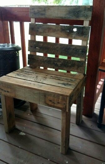 Strange Old West Style Chair By Roberts Custom Pallets These Are Machost Co Dining Chair Design Ideas Machostcouk