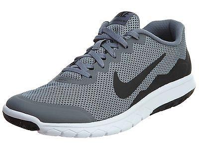 d5c79158a0d8 Nike Flex Experience Run 4 Mens 749172-006 Grey Black Running Shoes Size  10.5