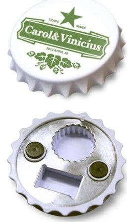 abridor de garrafa com imã de geladeira - Pesquisa Google