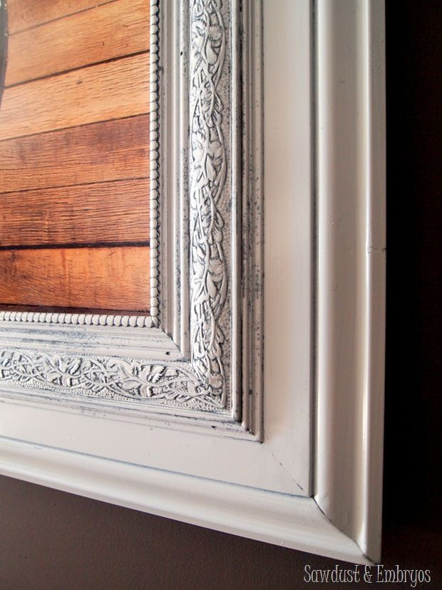 Build a Custom Frame out of Trim Pieces | Marcos, Pintar y Cuadro