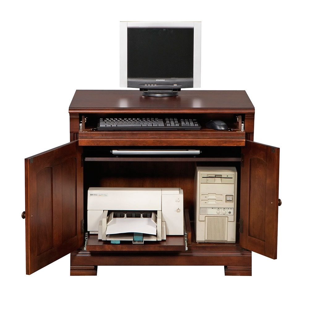 Computer Cabinet 32 W Home Office Organization Furniture Business Furniture