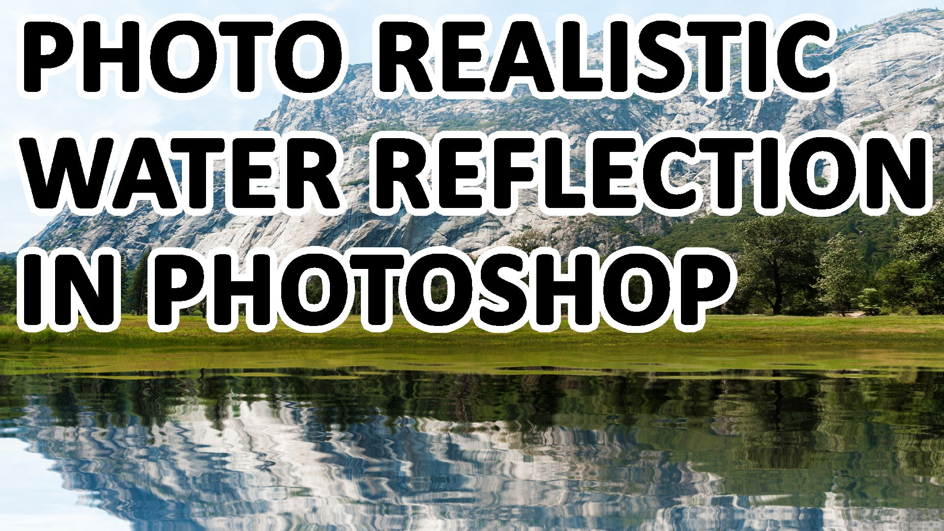 This tutorial will teach you how to create photo realistic water reflection in Photoshop. This can be useful not only when you want to add a new body of water, like a lake, to the photo, but also when you want to partially replace an existing body of water, make it bigger, or hide objects around it. https://youtu.be/Vp2JMdfM418
